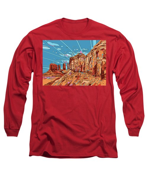 Nature Monument 3 Long Sleeve T-Shirt
