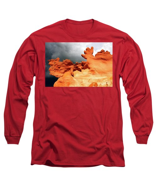 Long Sleeve T-Shirt featuring the photograph Nature's Artistry Nevada 2 by Bob Christopher