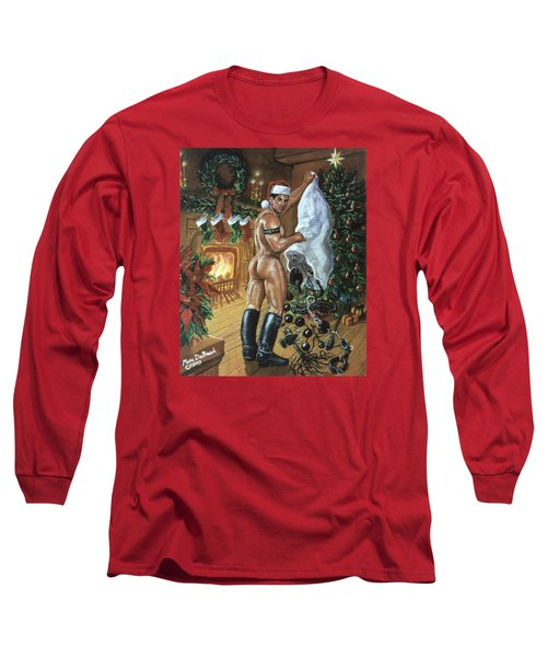 Naughty Santa Long Sleeve T-Shirt