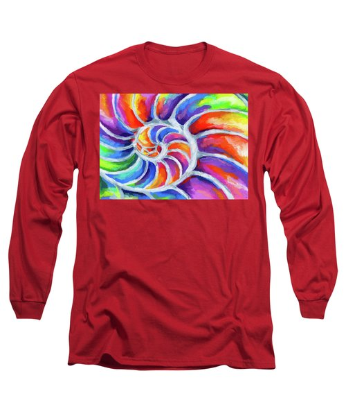 Nautilus Curves Long Sleeve T-Shirt