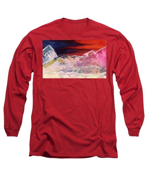 Near Arrow Mountains Long Sleeve T-Shirt