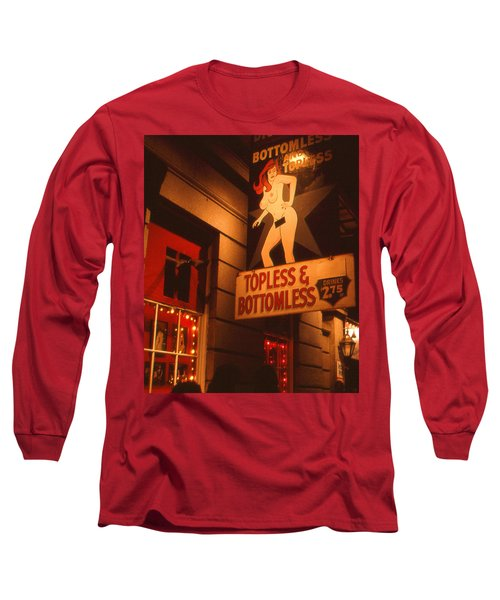New Orleans Topless Bottomless Sexy Long Sleeve T-Shirt