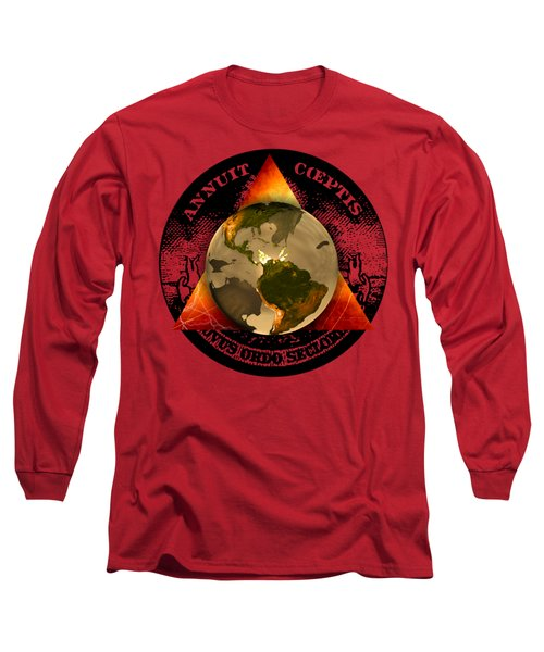 New World Order By Pierre Blanchard Long Sleeve T-Shirt by Pierre Blanchard