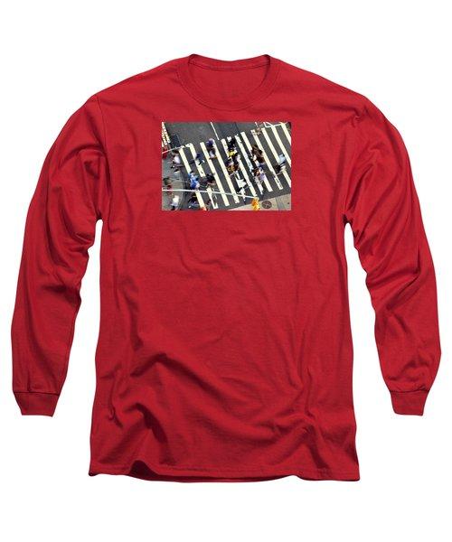 New York Minute Long Sleeve T-Shirt by David Gilbert