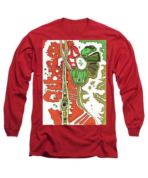 Nightmare In The Garden Long Sleeve T-Shirt