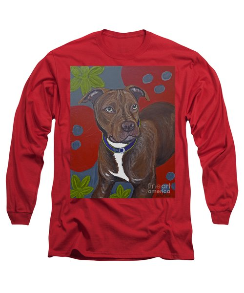 Niko The Pit Bull Long Sleeve T-Shirt