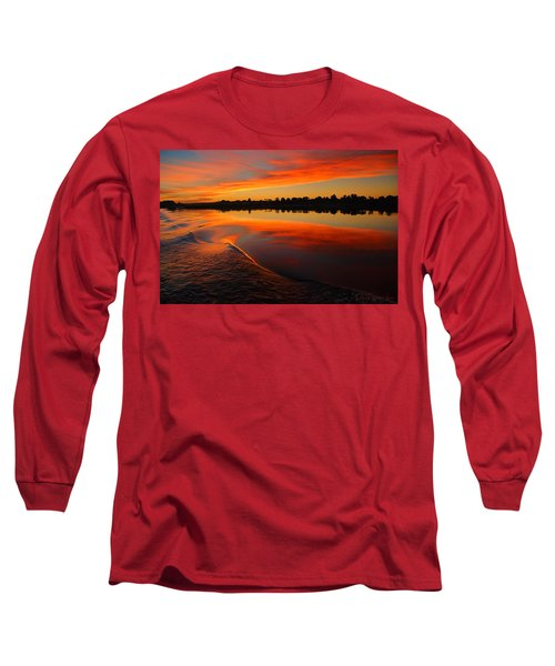 Nile Sunset Long Sleeve T-Shirt