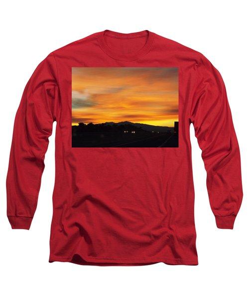 Nm Sunrise Long Sleeve T-Shirt by Adam Cornelison