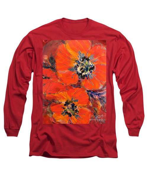 Magic Poppy Long Sleeve T-Shirt