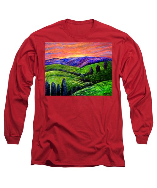 No Place Like The Hills Of Tennessee Long Sleeve T-Shirt by Kimberlee Baxter