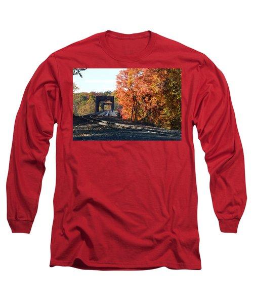 No Train Coming Long Sleeve T-Shirt