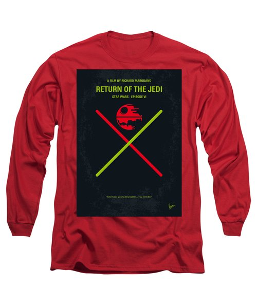 No156 My Star Wars Episode Vi Return Of The Jedi Minimal Movie Poster Long Sleeve T-Shirt