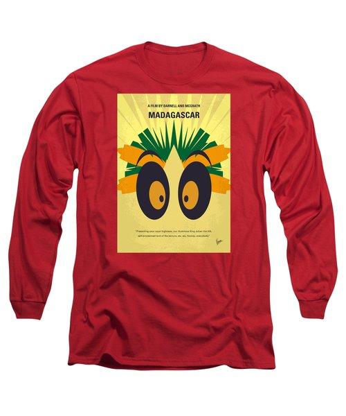 No589 My Madagascar Minimal Movie Poster Long Sleeve T-Shirt