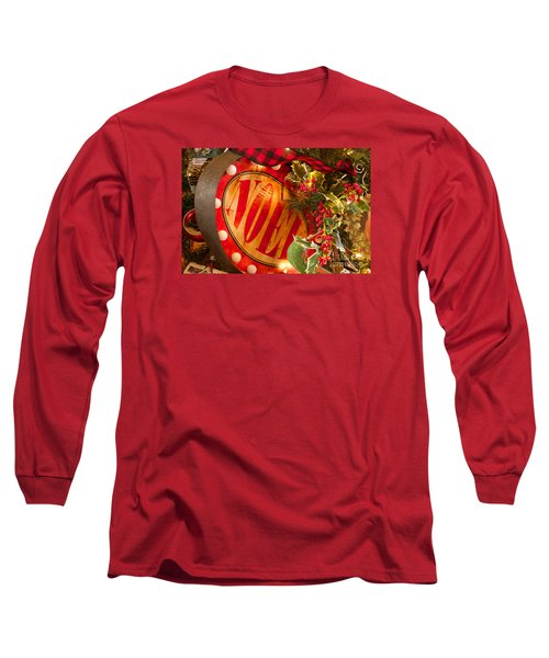 Noel Sign Long Sleeve T-Shirt by Vinnie Oakes