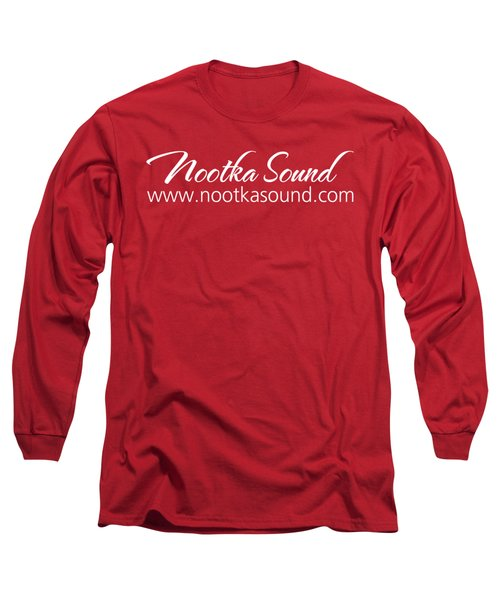 Nootka Sound Logo #14 Long Sleeve T-Shirt by Nootka Sound