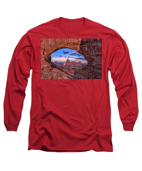 North Window At Sunrise Long Sleeve T-Shirt