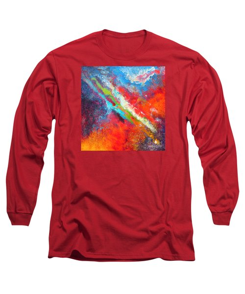 Fantasies In Space Series Painting. Nova Sonata Long Sleeve T-Shirt