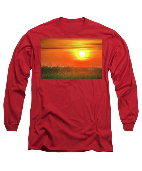 November Sunset Long Sleeve T-Shirt