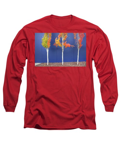 Long Sleeve T-Shirt featuring the photograph Now Showing by Theresa Tahara