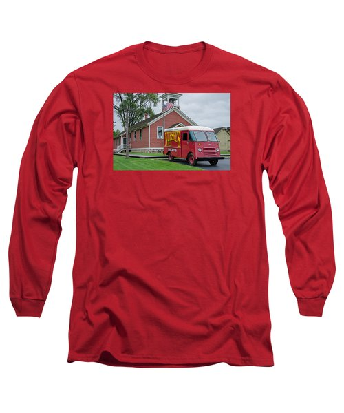 Nueske Meat Store Long Sleeve T-Shirt by Susan  McMenamin
