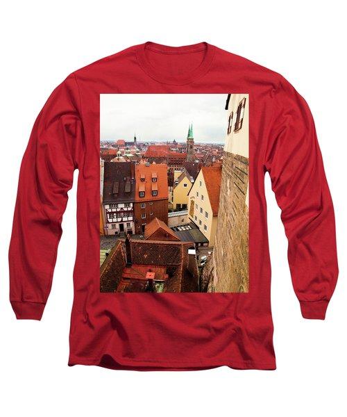 Nuremberg Cityscape Long Sleeve T-Shirt