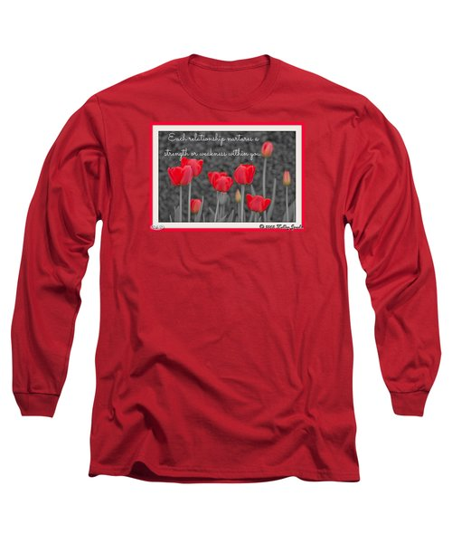 Nurtures Strength Long Sleeve T-Shirt by Holley Jacobs