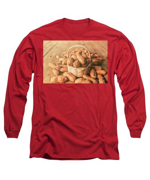 Nut Basket Case Long Sleeve T-Shirt