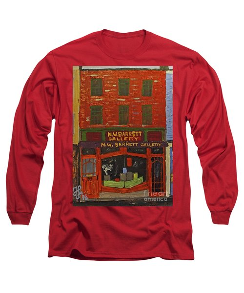 N.w.barrett Gallery Long Sleeve T-Shirt