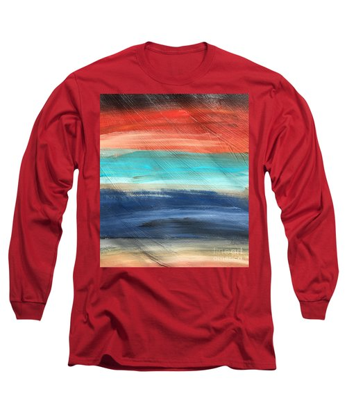 Oak Creek #27 Southwest Landscape Original Fine Art Acrylic On Canvas Long Sleeve T-Shirt