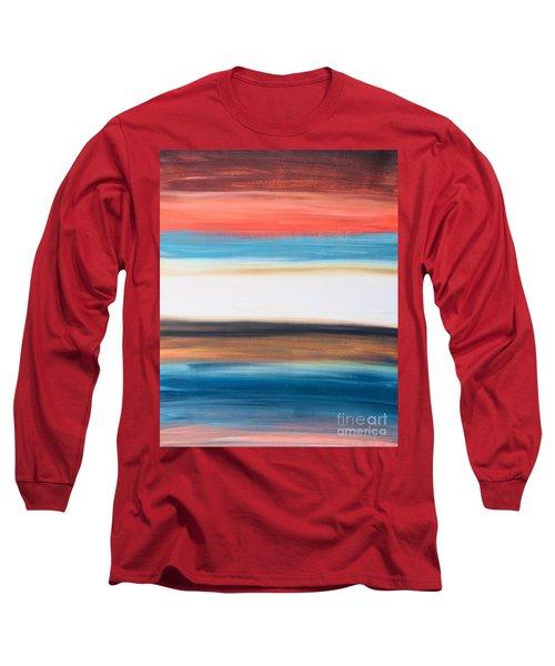 Oak Creek #29 Southwest Landscape Original Fine Art Acrylic On Canvas Long Sleeve T-Shirt