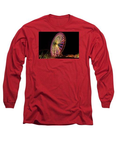 Ocean City Ferris Wheel1 Long Sleeve T-Shirt