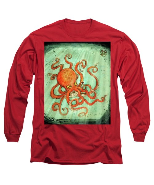 Octo Tako With Surprise Long Sleeve T-Shirt
