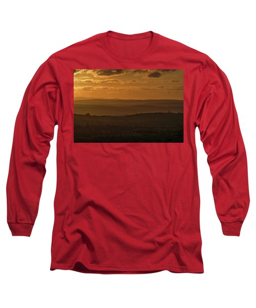 October Sunset In Acadia Long Sleeve T-Shirt