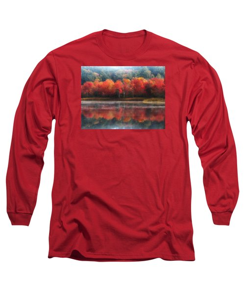 October Trees - Autumn  Long Sleeve T-Shirt by MTBobbins Photography