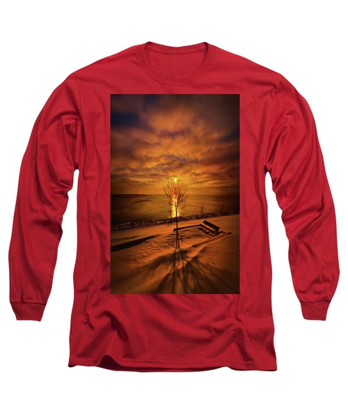 Long Sleeve T-Shirt featuring the photograph Of Where We Thought We Were by Phil Koch
