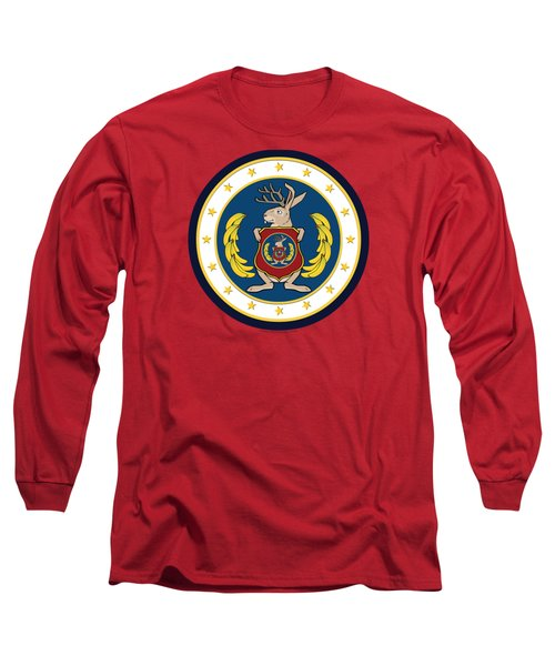 Official Odd Squad Seal Long Sleeve T-Shirt by Odd Squad