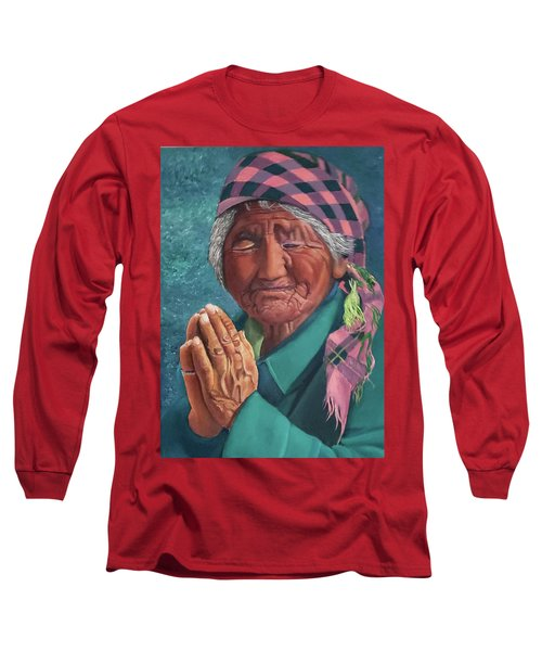 Oh Great Spirit, Hear My Prayer Long Sleeve T-Shirt