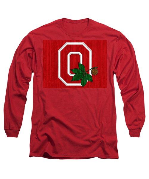 Ohio State Wood Door Long Sleeve T-Shirt