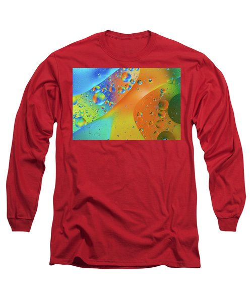 Oil And Water 10 Long Sleeve T-Shirt by Jay Stockhaus
