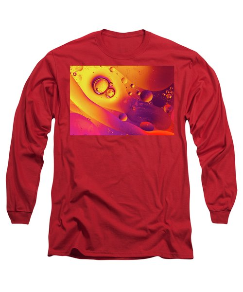 Oil And Water 8 Long Sleeve T-Shirt by Jay Stockhaus