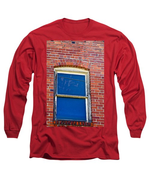 Old Brick Building Long Sleeve T-Shirt