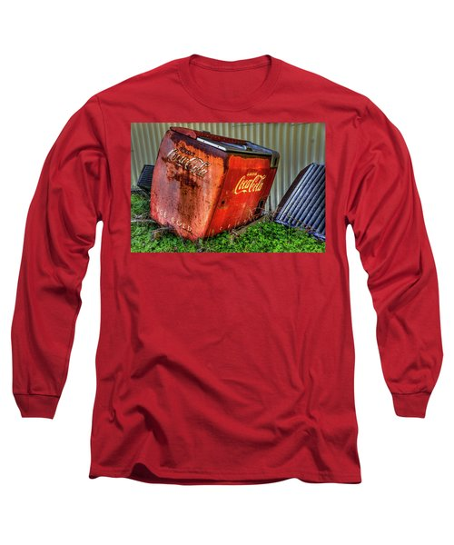 Old Coke Box Long Sleeve T-Shirt