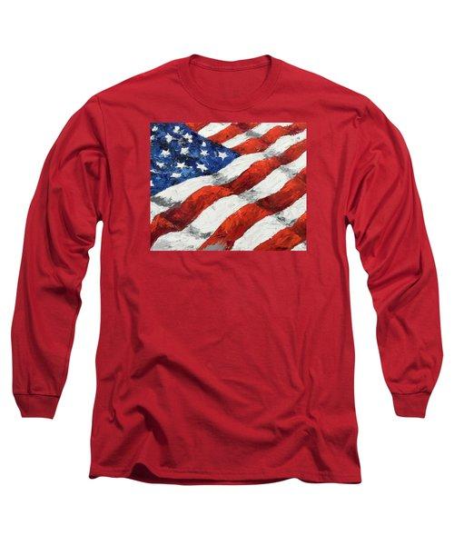 Old Glory II Long Sleeve T-Shirt