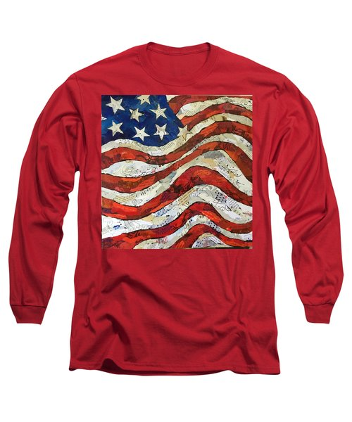 Old Glory II Long Sleeve T-Shirt