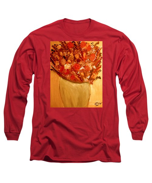 Old Green Vase Long Sleeve T-Shirt by Bill OConnor