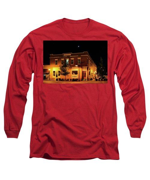 Old Hotel Moonlight Long Sleeve T-Shirt