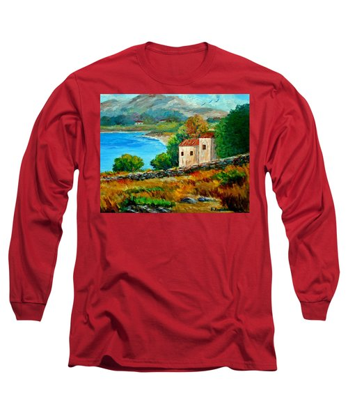 Old House In Mani Long Sleeve T-Shirt