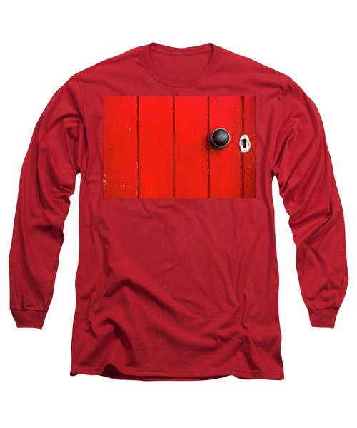 Old Red Door  Long Sleeve T-Shirt