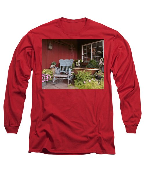 Old Rockin' Chair Long Sleeve T-Shirt