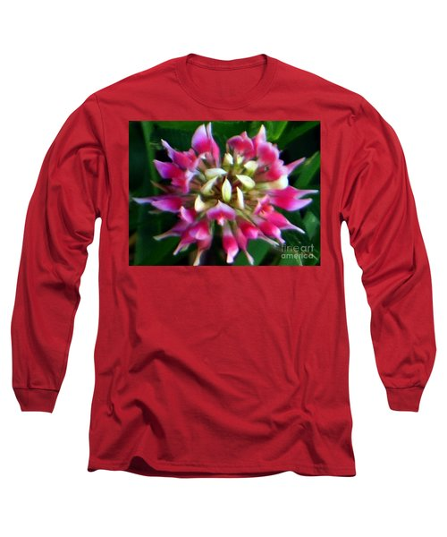 Old Rose Explosive Wildflower Long Sleeve T-Shirt